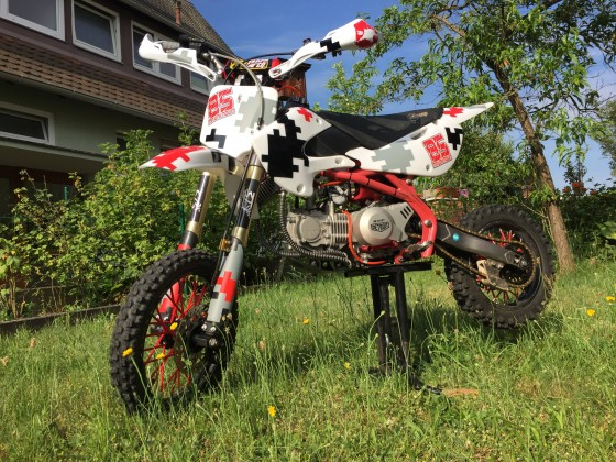 Pitbike - Neuaufbau 170ccm