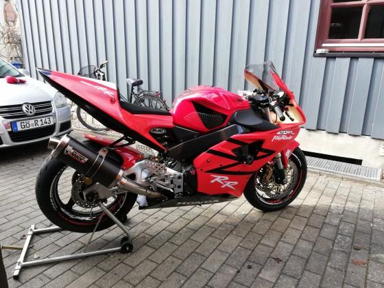 Honda sc50 Trackbike