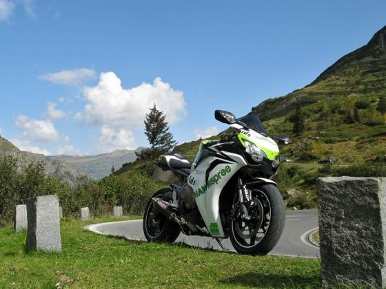 SC59 in den Alpen