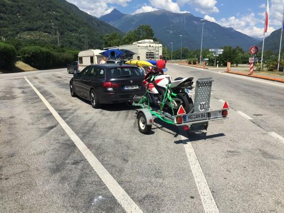 Rückreise aus Italien mit defekter LiMa