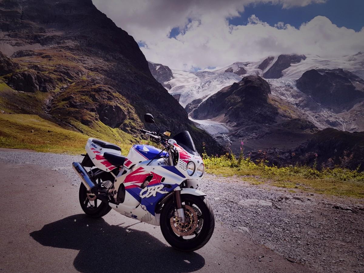 Meine Sc28 in den Alpen