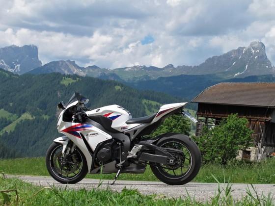 Die Dolomiten im Blick
